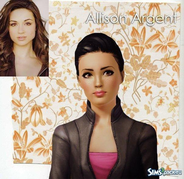 Allison Argent от Martinova для Симс 3