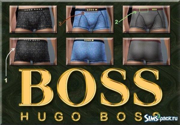 Мужские трусы Hugo Boss для Sims 3