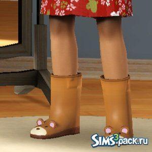 Детские резиновые сапоги для Sims 3