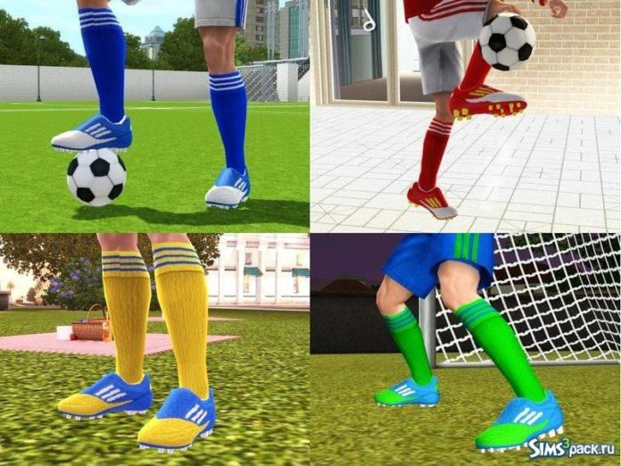 Футбольные бутсы для Sims 3