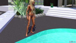 Реалистичная кожа (не дефолт) для Sims 3