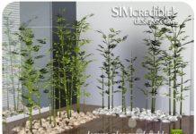 Декоративный бамбук для Симс 3
