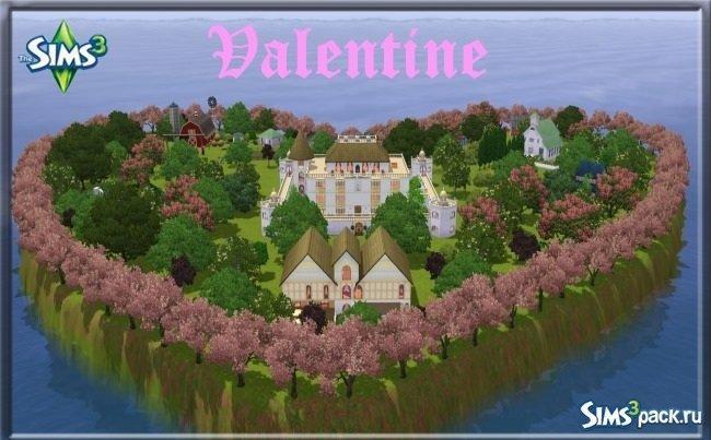 Город Valentine для Симс 3
