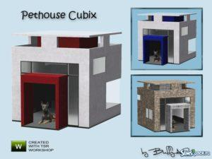 Домики для кошек и собак для Sims 3