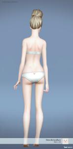 Недефолтный скин от benedictwallace для Sims 3