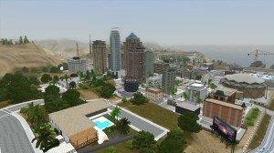 Город Los Aniegos от Coasterboi для Симс 3