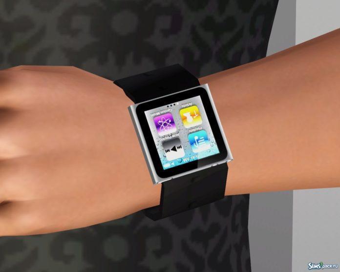 Часы iPod Nano для Sims 3