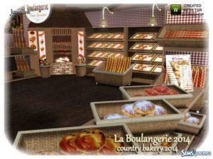 Пекарня от Jomsims для Симс 3