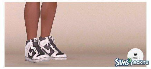 Кроссовки Nike от Pixicat для Симс 3