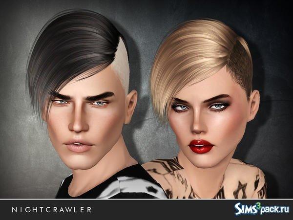 Прическа для парней и девушек для Sims 3