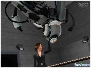 GLaDOS Cупер-компьютер из Portal для Симс 3