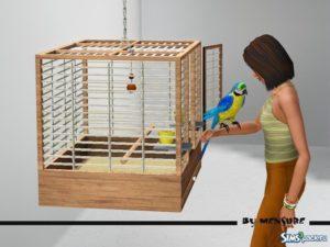 Клетка для птиц от Mensure для Симс 3