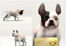 Французский бульдог Печенька от LuckyFortune для Sims 3