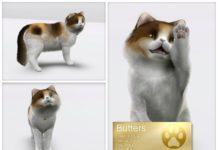Персидский кот от LuckyFortune для Симс 3