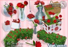 Розы от Simcredible Designs для Sims 3