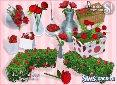 Розы от Simcredible Designs для Sims 3