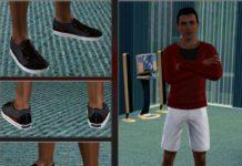 Мужские кроссовки для Симс 3