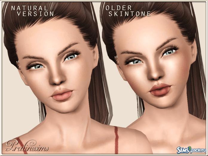 Pure Skin Natural от Pralinesims для Симс 3