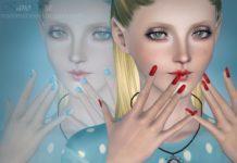 Ногти и слайдеры к ним от Inno-Nails для Симс 3