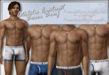 Мужские трусы от Sims2sisters для Sims 3