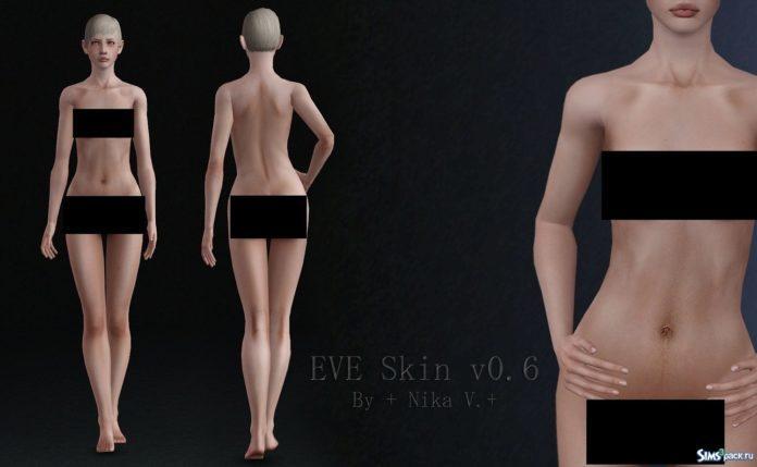 Скин EVE v0.6 от Nika V для Симс 3
