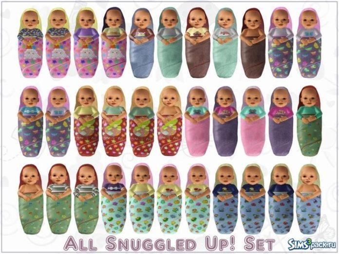 Одежда для младенцев от sinful_aussie для Симс 3