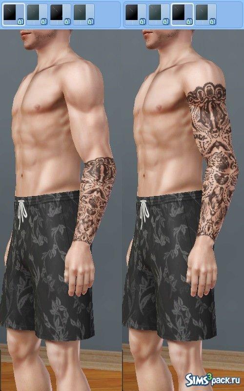 Татуировка из Far Cry 3 для Sims 3