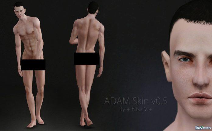 Скин ADAM v0.5 от Nika V для Sims 3