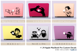 24 ноутбука Apple от NewOne для Симс 3