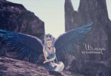Крылья от GoldDream для Симс 3