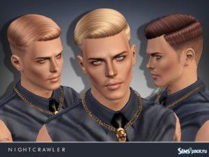 Мужская прическа №7 от Nightcrawler Sims для Sims 3