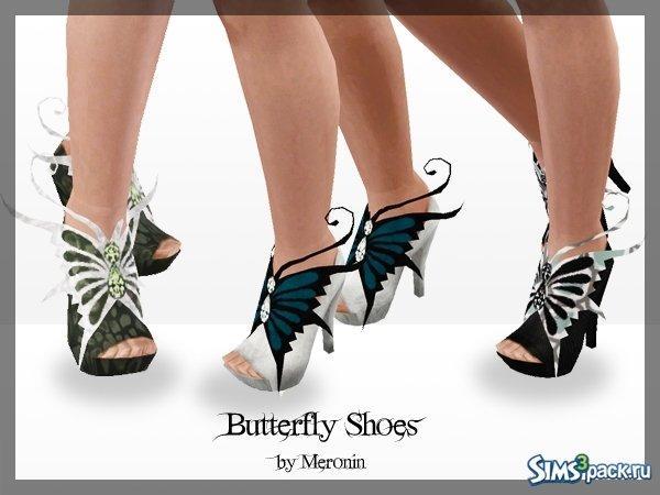 Туфельки от Meronin для Sims 3