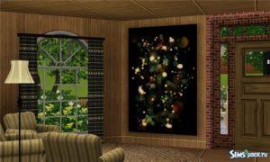 Большие картины на любой вкус от viaalonka для Sims 3