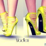 Туфли Suza Shoes от MJ95 для Симс 3