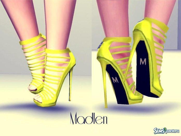 Туфли Suza Shoes от MJ95 для Симс 3