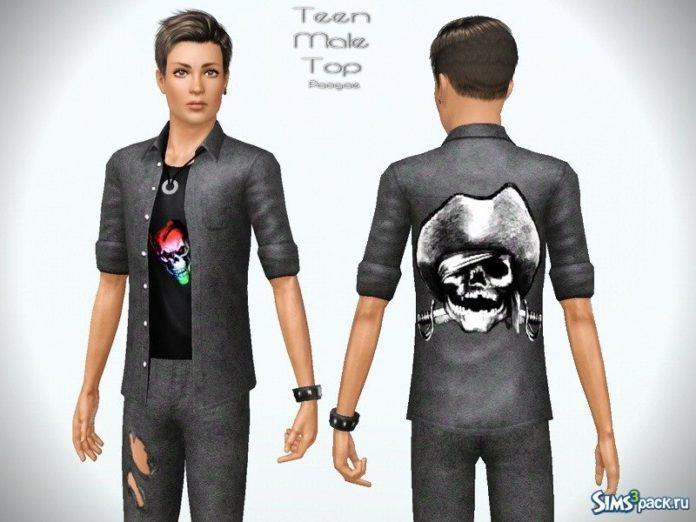 Одежда для подростков от Paogae для Sims 3