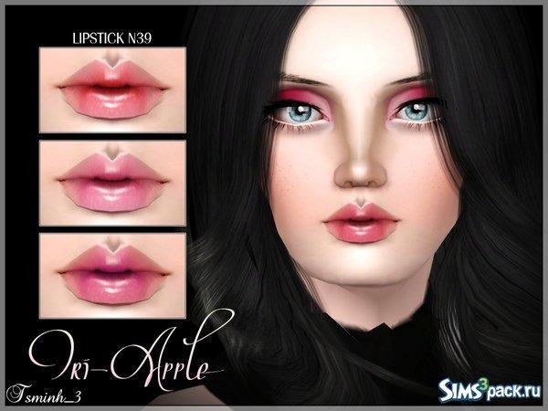 Помада Tri-Apple от Tsminh_3 для Sims 3