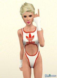 Miley Cyrus от Аnn_Liv для Sims 3