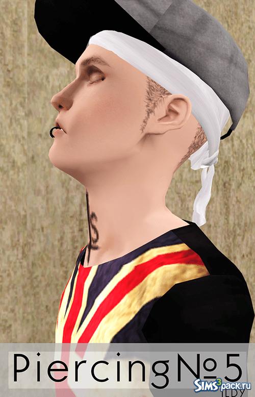 Пирсинг от ILDY для Sims 3