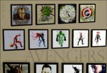 """Картины """"Мстители"""" от Toshi для Sims 3"""