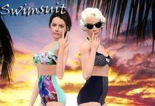 Купальник от Улито4ки для Sims 3