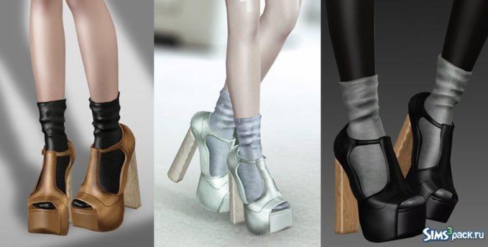 Туфли от leahlillith для Симс 3