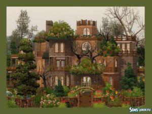 """Дом """"Рай феи"""" от Camarossz28 для Sims 3"""