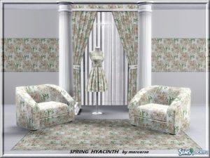 5 цветочных паттернов от marcos для Sims 3
