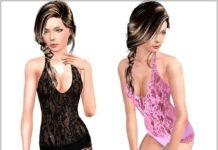 Нижнее белье от Lorandia для Sims 3