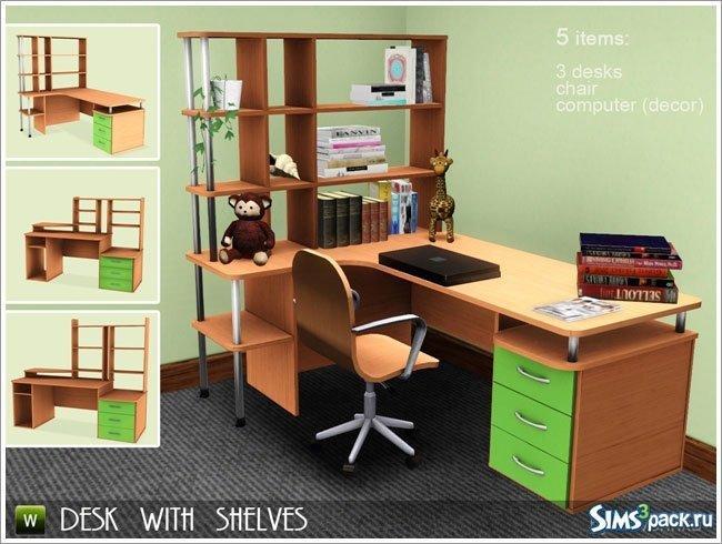Письменные столы от Severinka для Sims 3