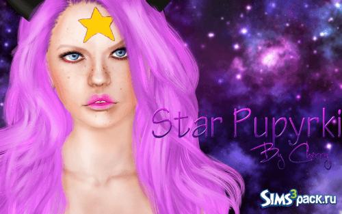 Звезда Принцессы Пупырки от Cherry для Симс 3
