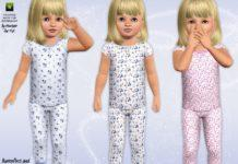 Детские пижамы от Minicart для Симс 3