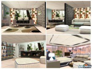 "Дом ""ML Design 01"" от Autaki для Sims 3"