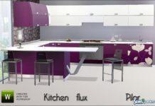 Кухня Flux от Pilar для Sims 3